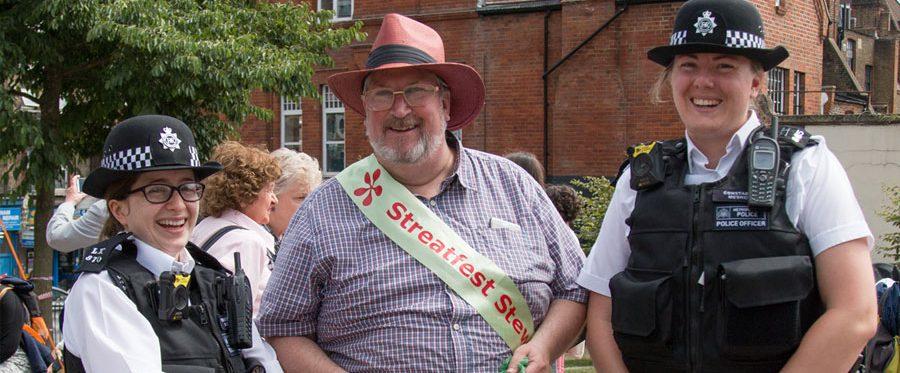 Streatham Festival volunteers