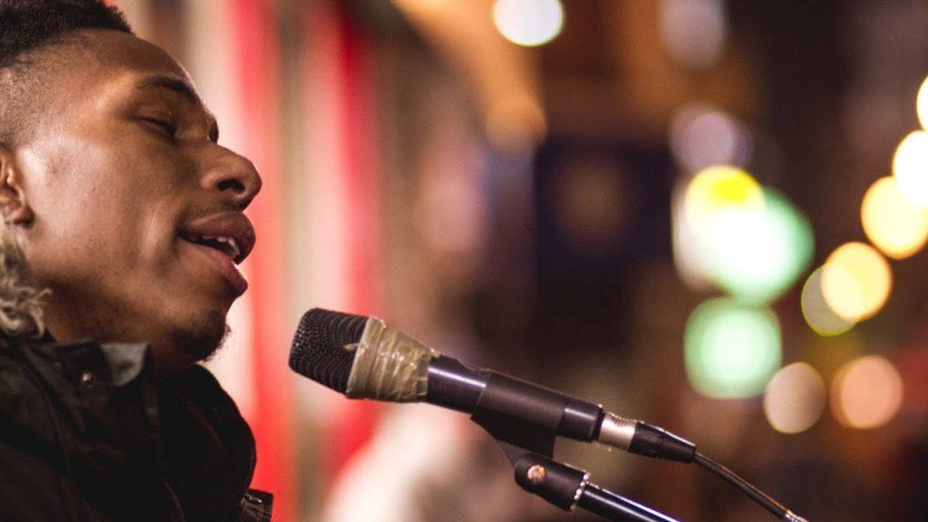 Image of Ashley Abigo singing