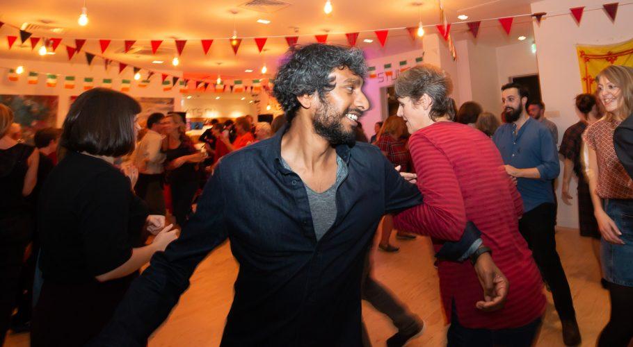 Dancing at Streatham Festival Ceilidh