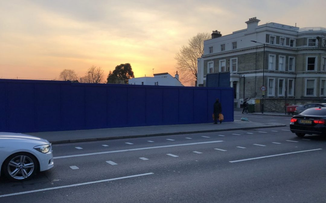 BLUE HOARDING PROJECT