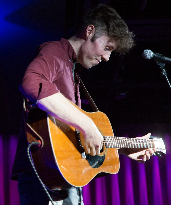 Image of Richard O'Gorman playing guitar