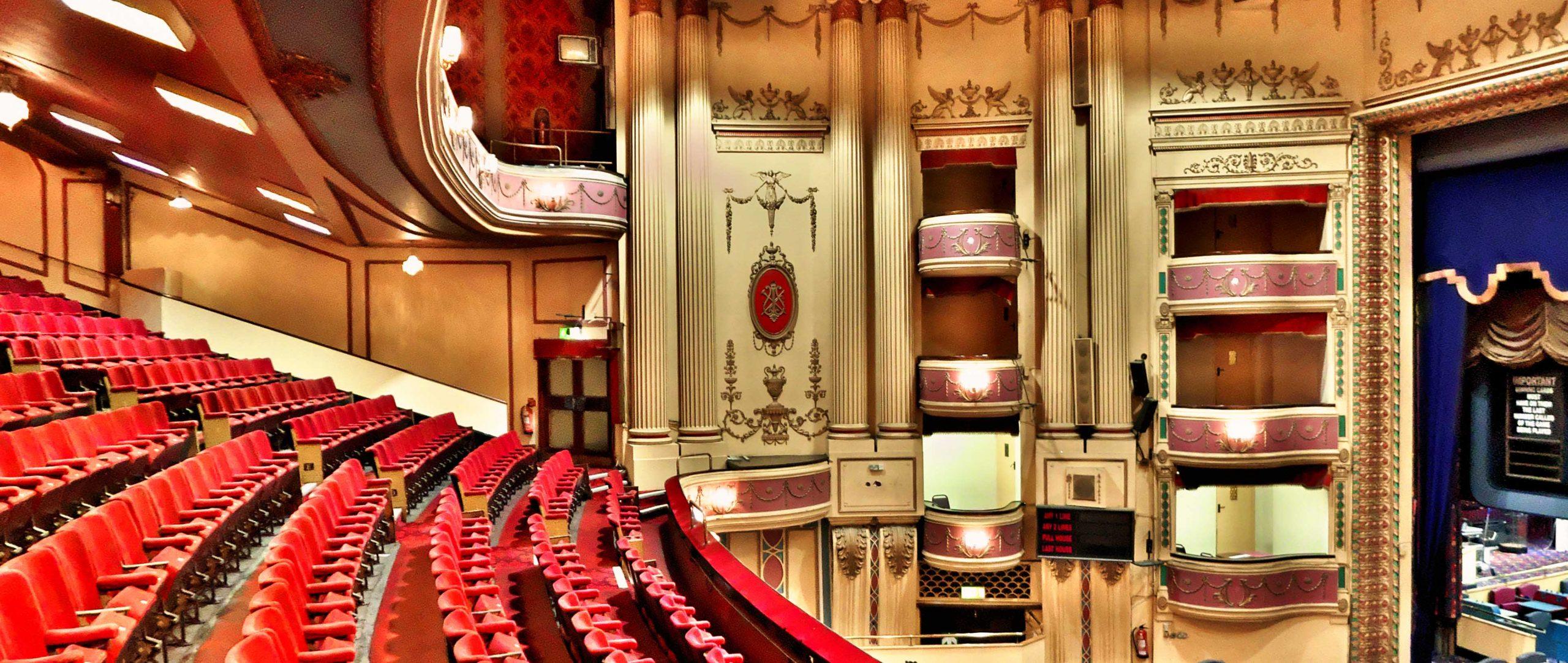Inside Streatham Theatre