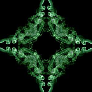 Smoke Art Green