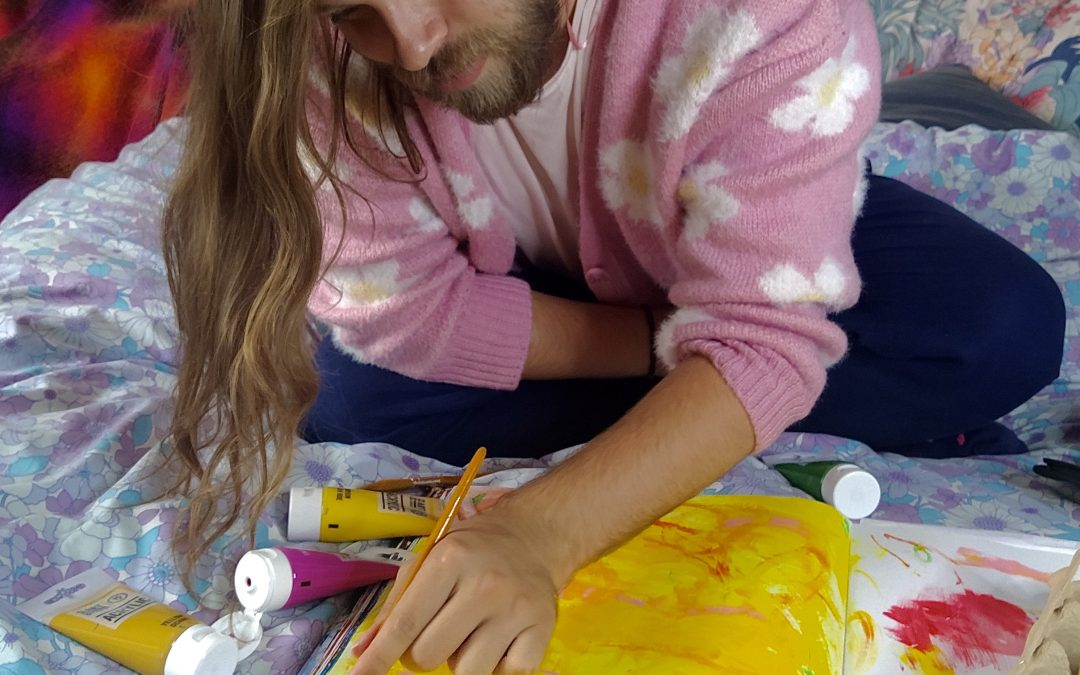 Painting Your Emotions Workshop – With Kyle Flynn-Davies.