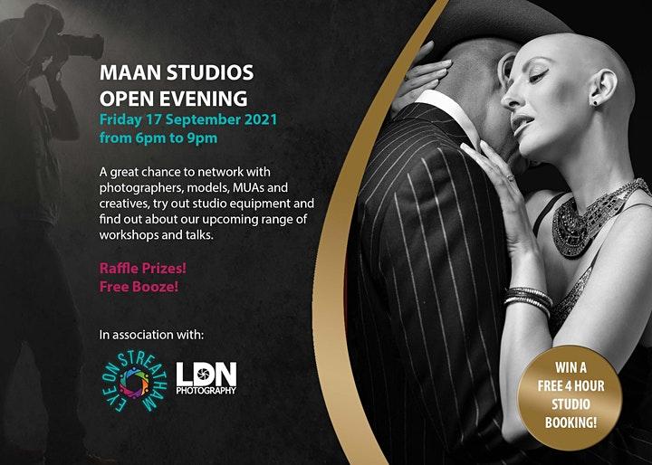 Open Evening – Photography Studio MAAN Studios